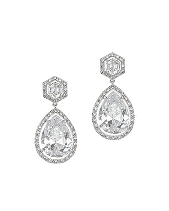 Glamorous Double Drop Earrings