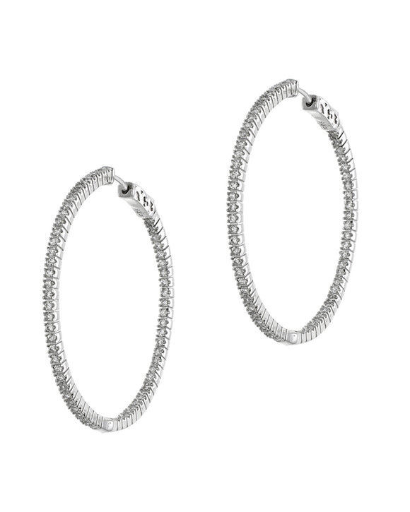 Bella Inside Out Hoop Earring