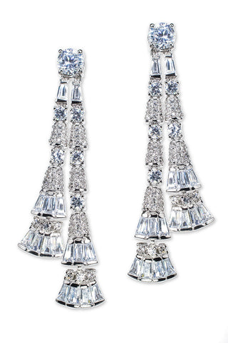 Tassel Drop Pierced Earring