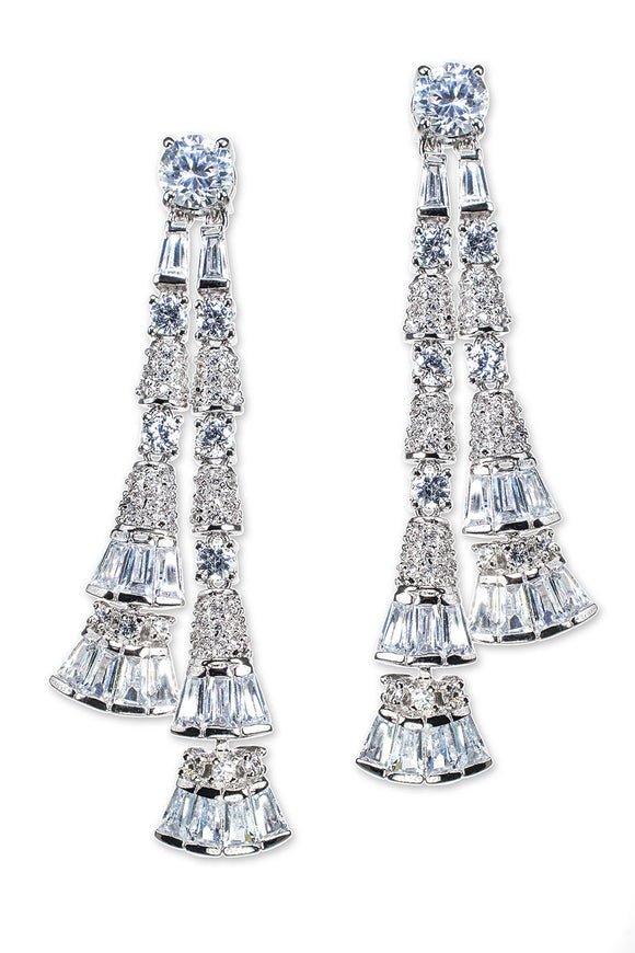 Tassel Bell Drop Pierced Earring
