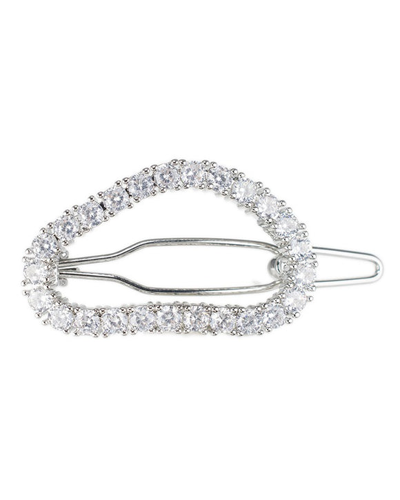 Misshaped Oval Hair Pin