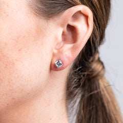 Classic Pierced Stud Earrings
