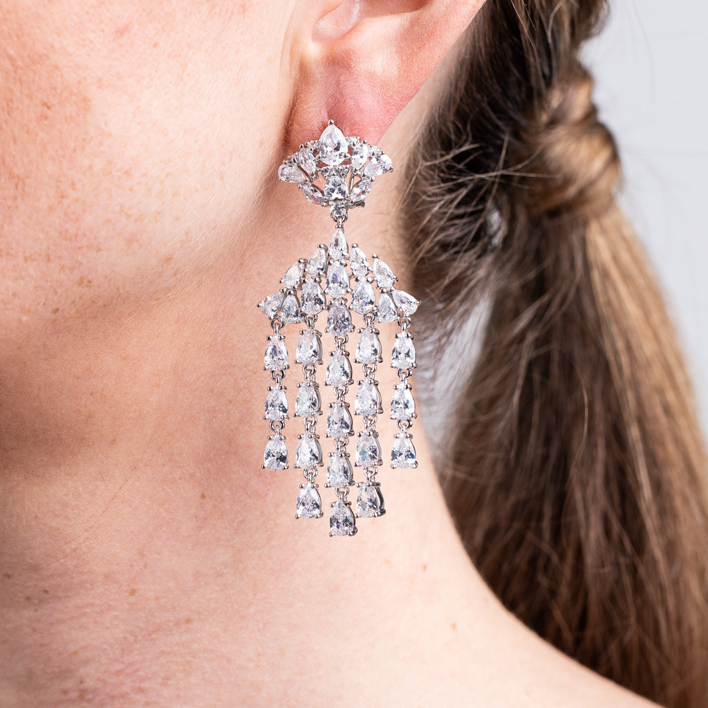 Statement Chandelier Earrings