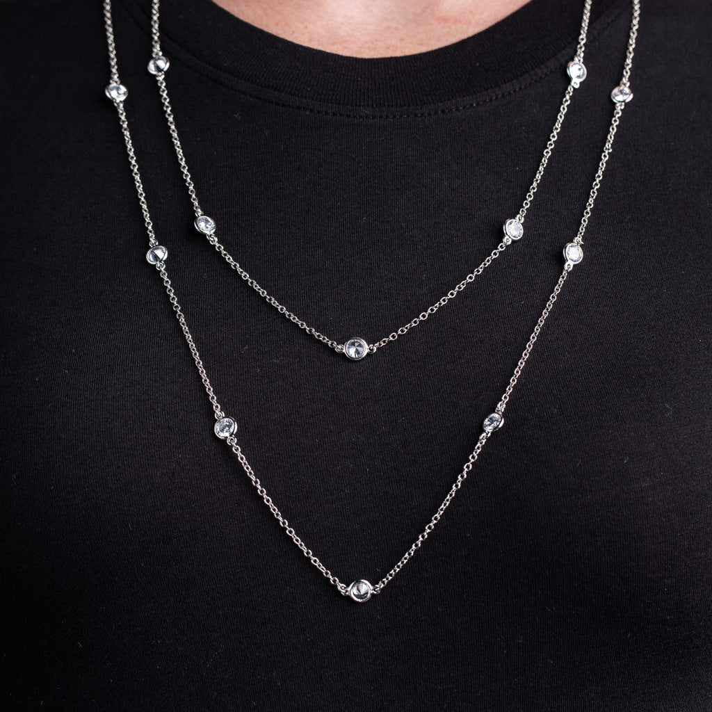 "58"" Station Necklace"