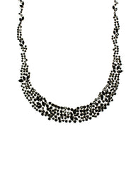 Black CZ Collar Necklace