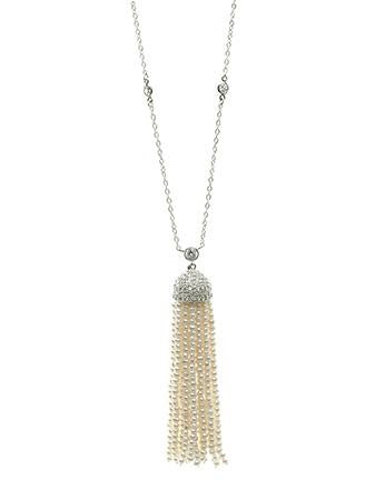 Sliced Cubic Zirconia Necklace