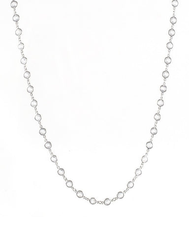 Bezel Set Collar Necklace