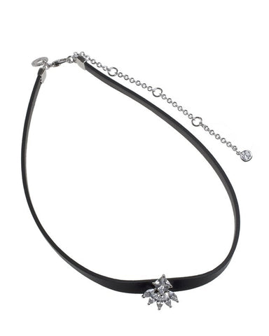 Princess and Marquise Cut Choker