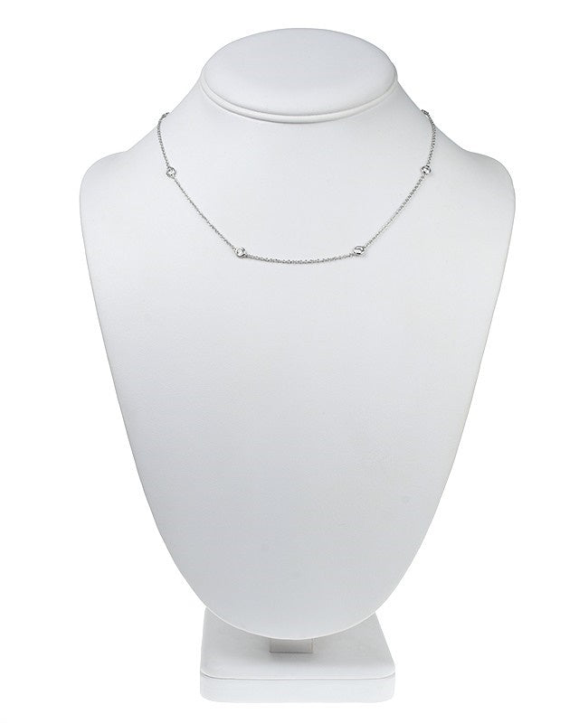"16"" Delicate Diamonds by the Yard Necklace"