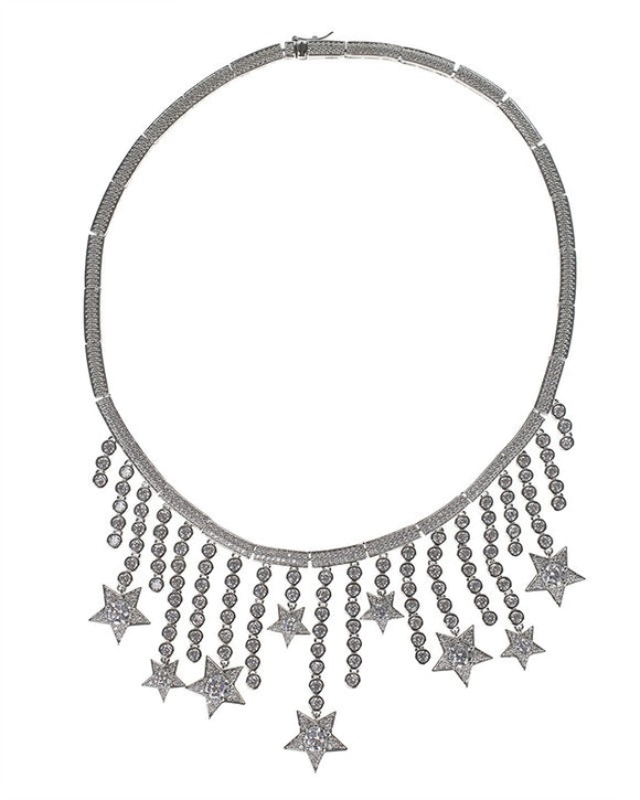 Shooting Star Statement Necklace