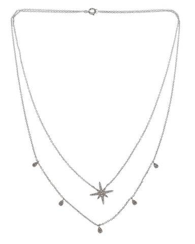 Double Strand Star Pendant