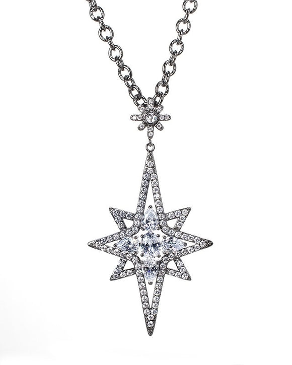 Starburst Elongated Pendant
