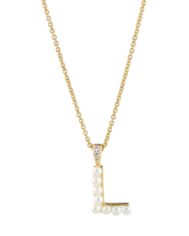 Pave Link Necklace