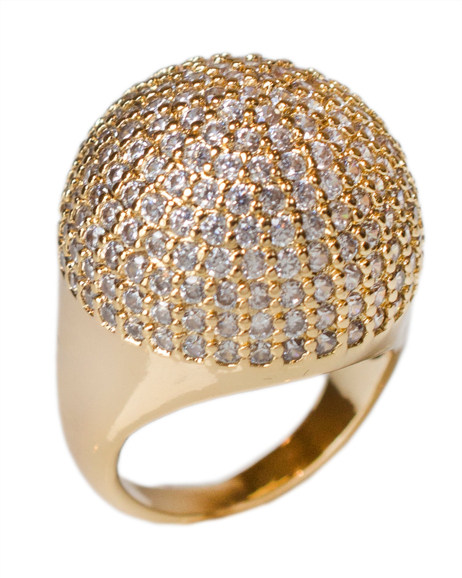 Dome Ring Gold Plated