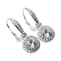 Classic Round Drop Pierced Earring