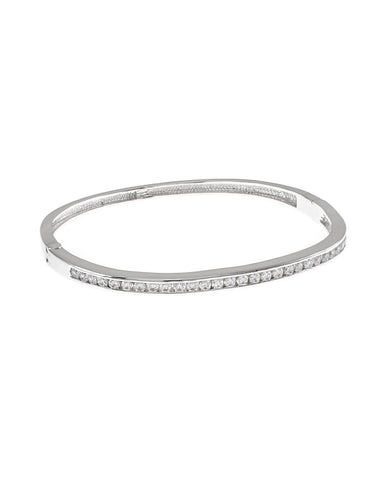 Classic Round Pave Bangle