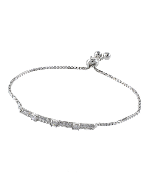 Adjustable Pave Bracelet