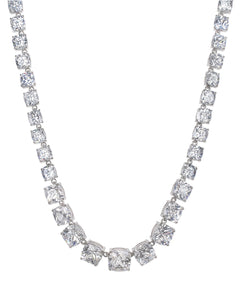 Grand Cushion Cut Necklace