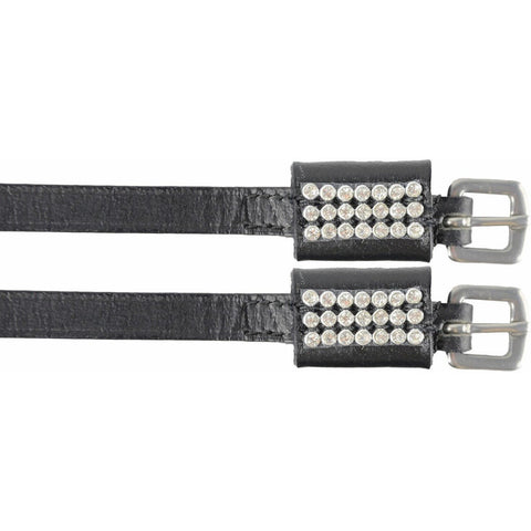 The HyCLASS Diamante Spur Straps from HyCLASS, available at 4Equine.com