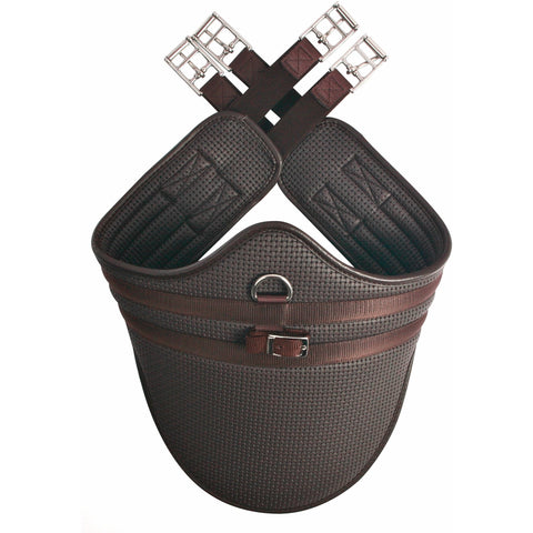 The HyCOMFORT Waffle Stud Girth from HyCOMFORT, available at 4Equine.com