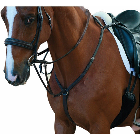 The Collegiate Hunter Breastplate II from Collegiate, available at 4Equine.com