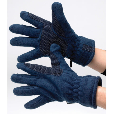 The Hy5 Fleece Gloves from Hy5, available at 4Equine.com