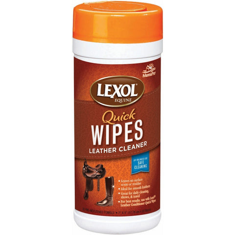 4Equine.com - Lexol Leather Cleaner Quick Wipes