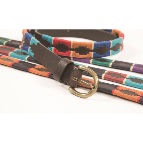 The Shires Drover Skinny Polo Belt from Shires, available at 4Equine.com
