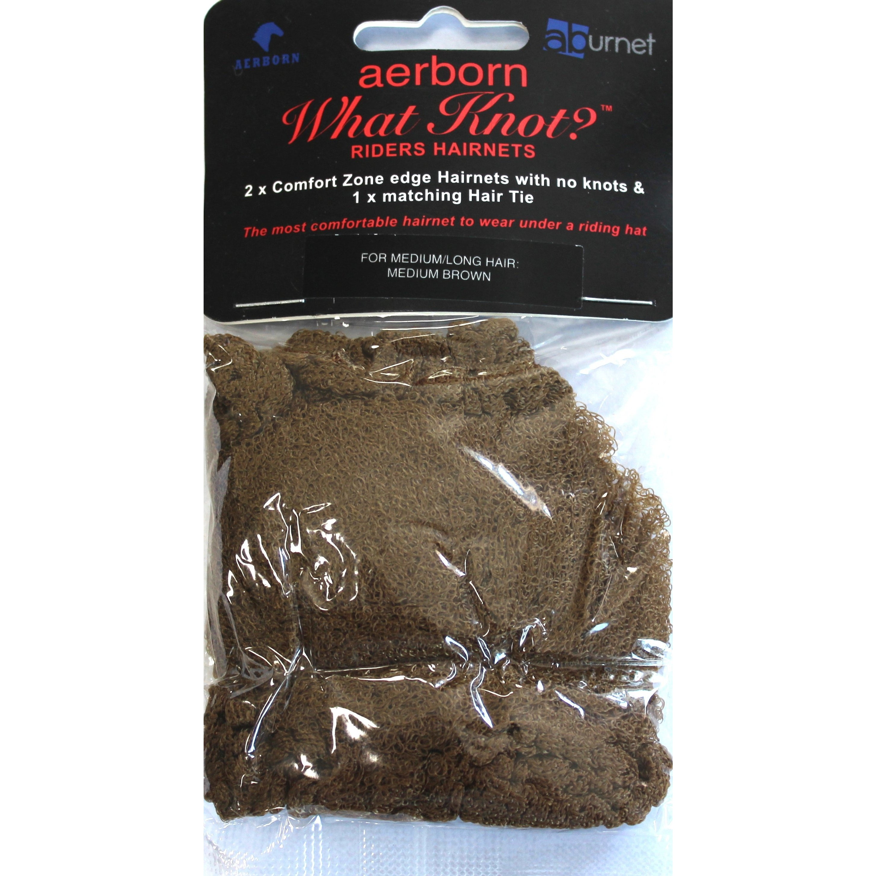 Aerborn What Knot? Hairnets Short Hair - Twin Pack