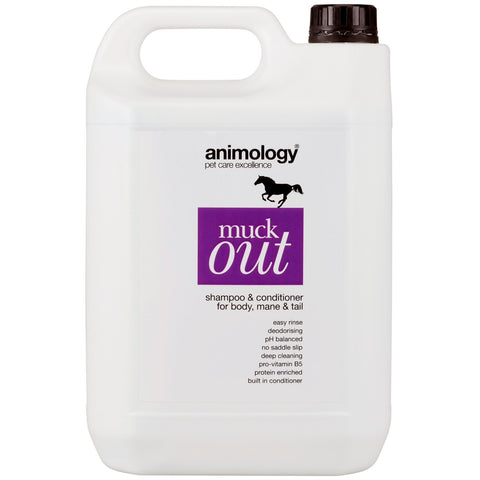 Animology Muck Out Shampoo & Conditioner