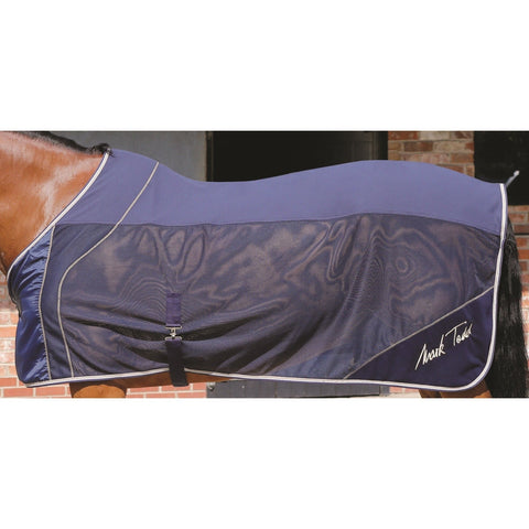 The Mark Todd Deluxe Half Mesh Cooler Rug from Mark Todd, available at 4Equine.com