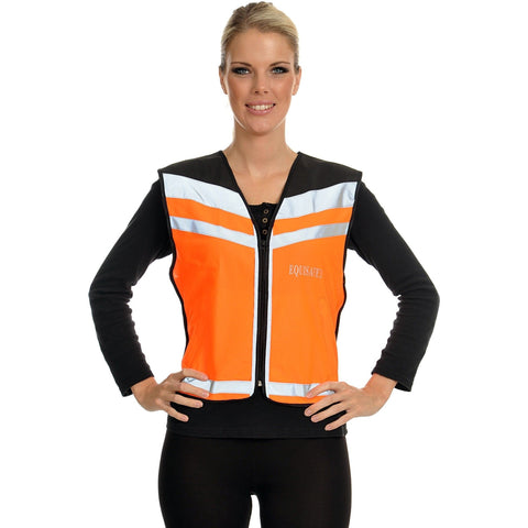 The Equisafety Air Waistcoat - Please Pass Wide & Slow from Equisafety, available at 4Equine.com