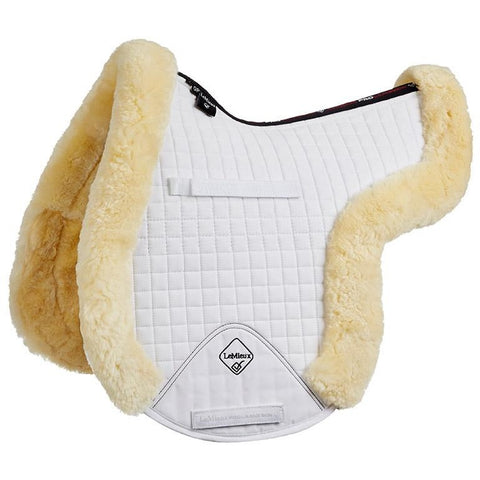 4Equine.com - LeMieux Lambskin GP/Jumping Fully Lined Numnah