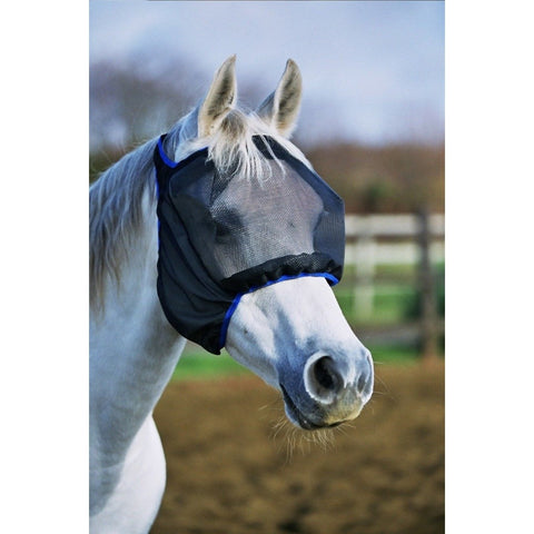 The Equilibrium Field Relief Midi Fly Mask (No Ears) from Equilibrium Products, available at 4Equine.com