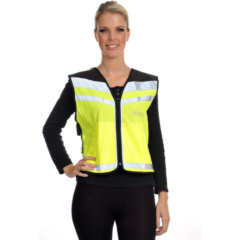 The Equisafety Air Waistcoat - Caution Young Horse from Equisafety, available at 4Equine.com