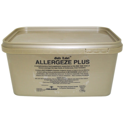 Gold Label Allergeze Plus