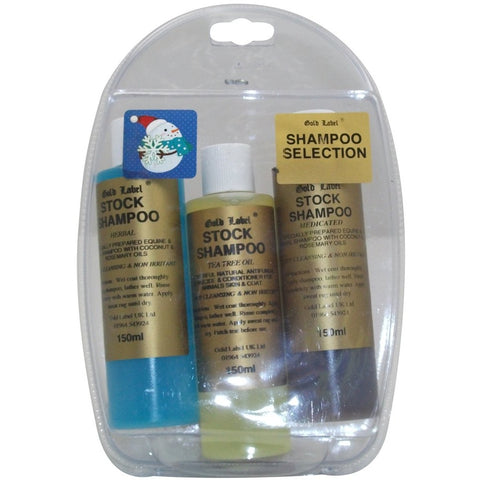 Gold Label Shampoo Selection