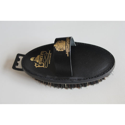 Equerry Body Brush Leather Mexican Fibre