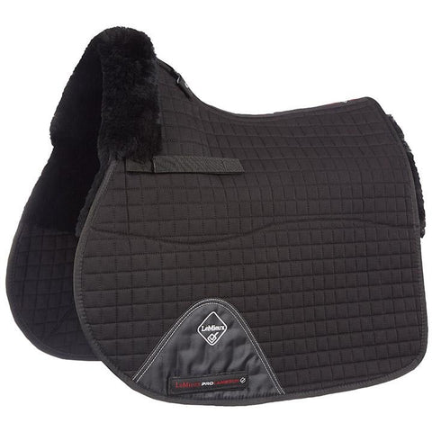 4Equine.com - LeMieux Lambskin GP/Jumping Square Half Lined