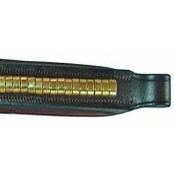 The JHL Brass Browband (Brass Fittings) from JHL, available at 4Equine.com