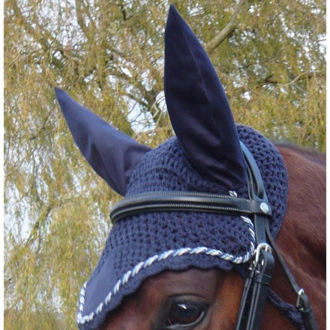 The Mark Todd Crochet Fly Veil from Mark Todd, available at 4Equine.com