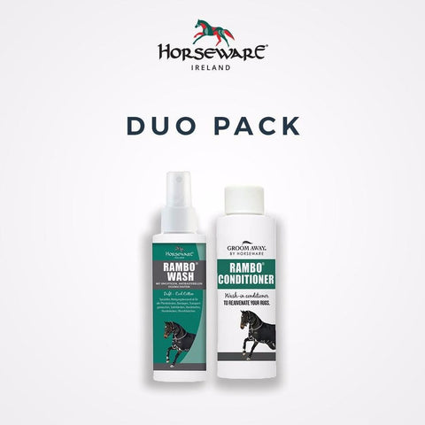 Rambo Rug Wash & Conditioner Duo Pack