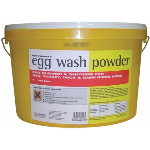 The Egg Wash Powder from DuPont, available at 4Equine.com