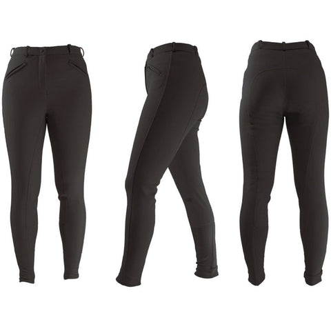 The HyPERFORMANCE Softshell Winter Ladies Breeches from HyPERFORMANCE, available at 4Equine.com