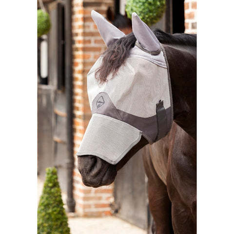 4Equine.com - LeMieux Comfort Fly Shield Full Mask (With Nose & Ears)
