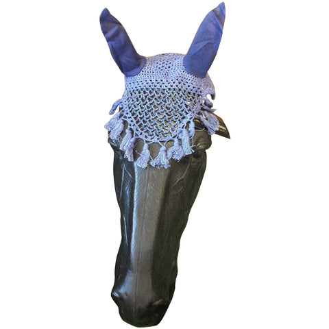 Bitz Beaded Crochet Fly Veil With Ears