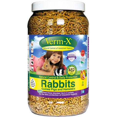 Verm-X Herbal Nuggets For Rabbits, Guinea Pigs & Hamsters