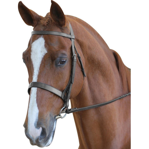 The Collegiate Hunt Cavesson Bridle II from Collegiate, available at 4Equine.com