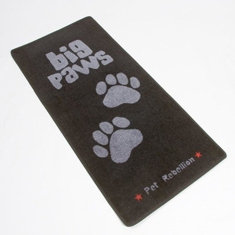 The Pet Rebellion Stop Muddy Paws X-Large - Big Paws from Pet Rebellion, available at 4Equine.com