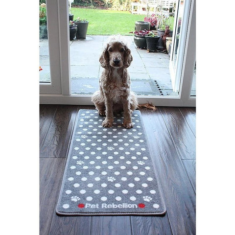 The Pet Rebellion Stop Muddy Paws Barrier Rug from Pet Rebellion, available at 4Equine.com